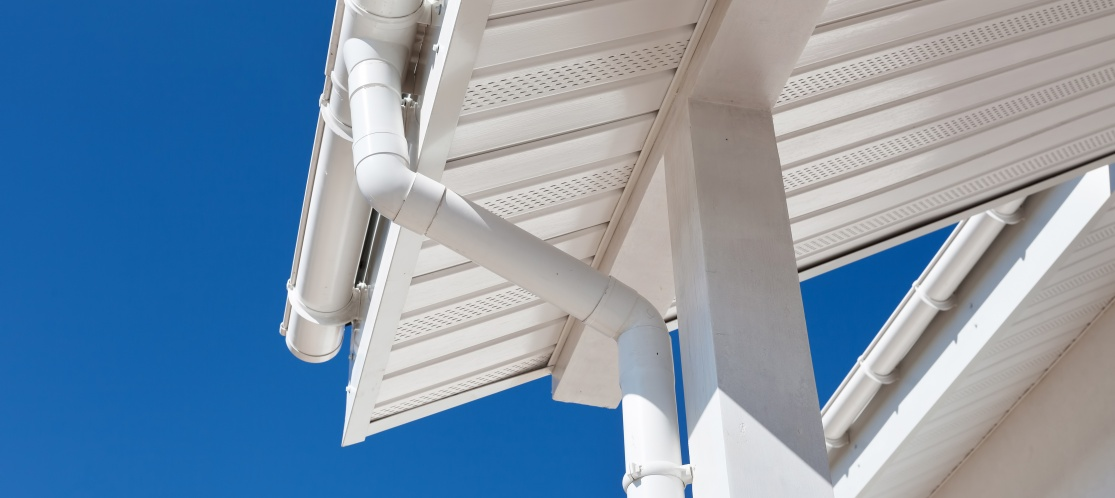 Downspouts and Gutters installed by DependaRoof